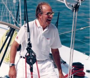 Король Хуан Карлос обожает морской отдых.