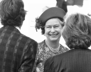 Елизавета II. 1988