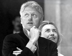 Билл и Хиллари Clynton. 1997