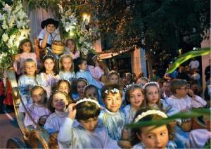 Главный праздник Вальдемоссы - Festa de la Beata.