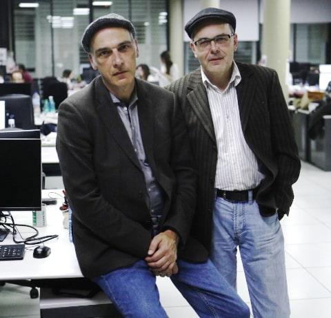 Christian Buckard y Daniel Guthmann, los autores.