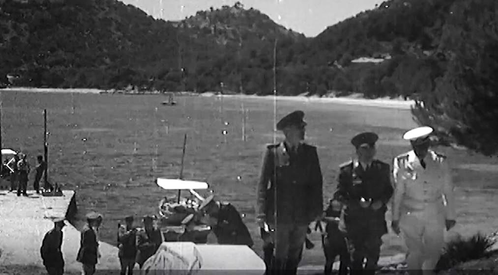 Los viajes para visitar las ciudades destruidas se hicieron entre 1938 y 1939. DIARIO DE MALLORCA