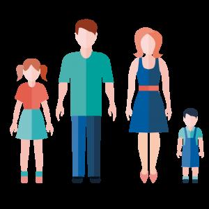 Familia nuclear biparental
