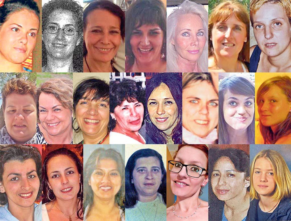 42 mujeres asesinadas