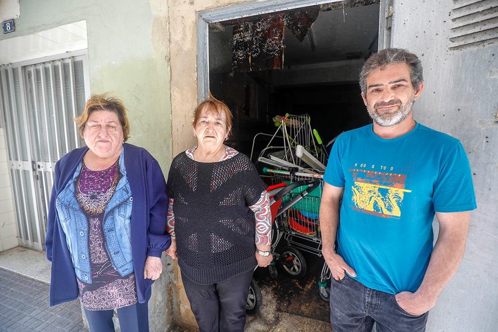 María Moragues, Magdalena Garcías y Unai Nieto